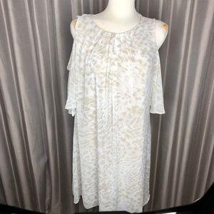 CALVIN KLEIN COLD SHOULDER DRESS`SZ.16 NEW!